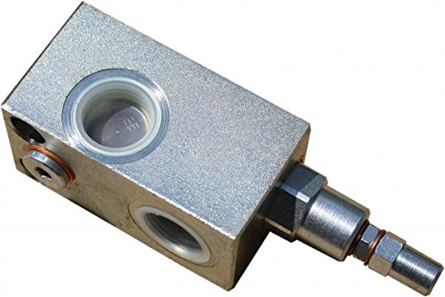 Druckbegrenzungsventil DBV für Rohrleitungsbauweise, max. Volumenstrom: 90 l/min, max. Betriebsdruck: 300 bar, Anschlüsse: G 3/4\'\'
