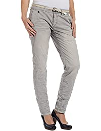 Timezone Damen Chino Hose AlannaTZ pants incl. belt