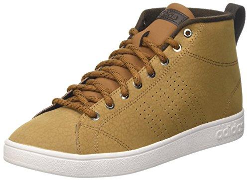 Adidas advantagecl mid wtr, sneaker a collo alto uomo, braun (madera/madera/marosc), 44 2/3 eu