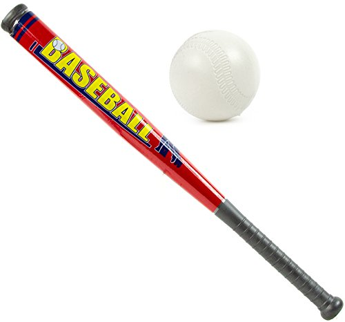 Nerd Clear Soft-Baseball-Schläger Baseball-Schläger für Kinder 27inch 70cm Rot Schwarz Kunststoff Ausrüstung America Home-Run Base-Ball