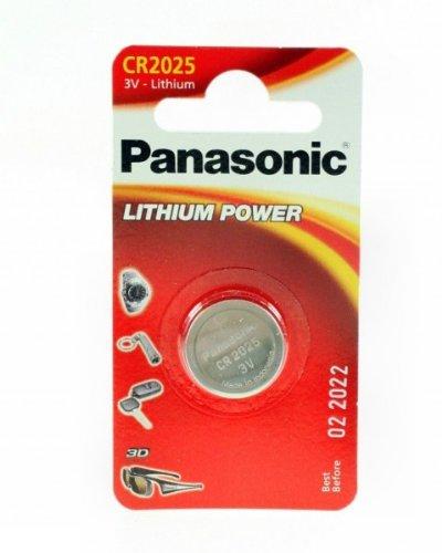 Panasonic Panasonic CR2025Lithium 3V nicht aufladbaren Akku