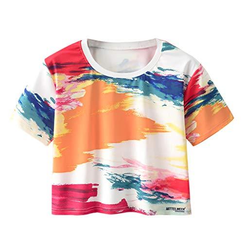 GREYF Yoga Sport Tank Top Damen Racerback Lauftop Fitness Running Shirt Oberteile(XL,Multicolor)