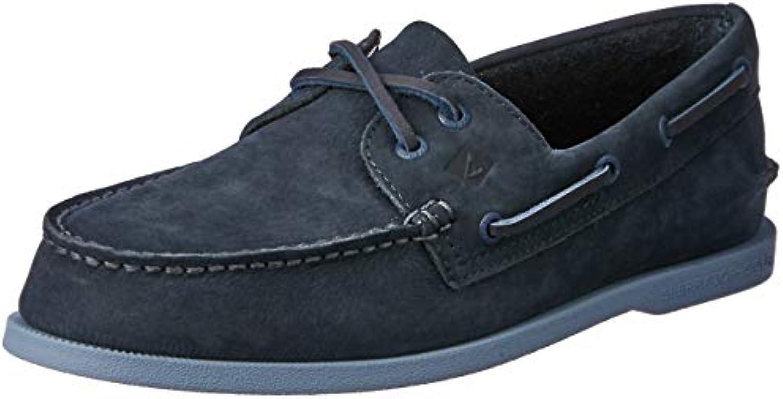 Sperry Men's A O 2-Eye 2-Eye 2-Eye Washable Boat scarpe, Navy, 9.5 M US   Sensazione piacevole  1a1623