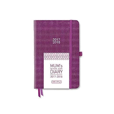 MUM's School Year Diary 2017-18 (Plum)
