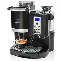 YSCCSY Machine À Café Expresso Automatique 20BAR Maker avec La Mouture D'haricot Et Le Fabricant De Mousse De Lait pour Le Bureau Ou Le Petit Café