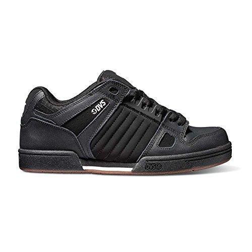 DVS, Sneaker uomo nero Black/Gum/White, nero (Black/Gum/White), 46 / 11.5