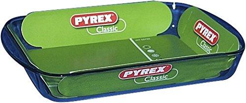 Pyrex 3059019 Essentials Plat à lasagnes rectangulaire en verre - 35x23x5 cm