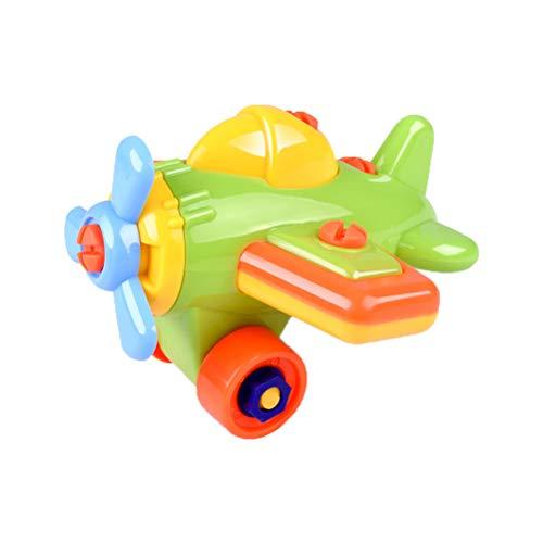 YeahiBaby Take auseinander Spielzeug Flugzeug Hubschrauber Spielzeug montieren Spielzeug Lernen Bildung Engineering Werkzeug Spielzeug für Kinder Jungen mädchen (zufällige Farbe)