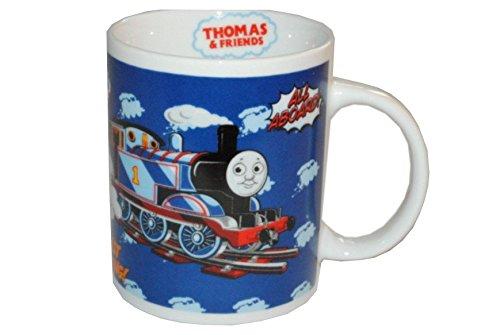 nd Friends Porzellan groß - Keramik Trinktasse Tasse Porzellantasse Freunde (Thomas Der Zug 1. Geburtstag)