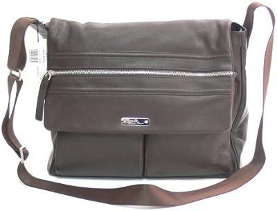 Aigner Messenger Bag piel 142013marrón