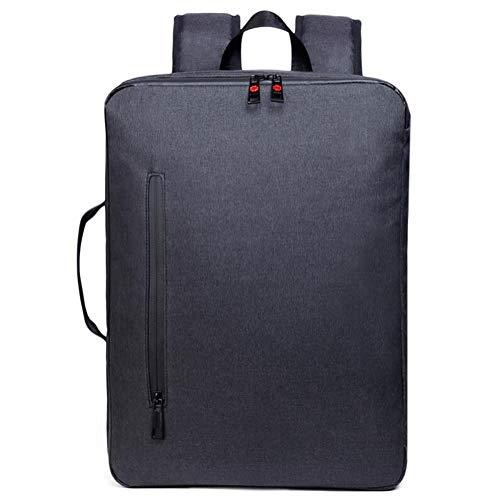 LXYIUN Zaino Per Laptop,Sacchetto Casuale Di Affari Impermeabile Anti-Furto Borsa Da Viaggio Zaino Multi-Funzione Nero
