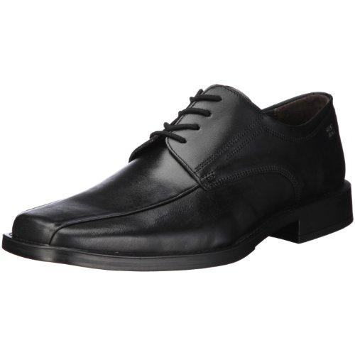 Robbie - zapatos con cordones de cuero hombre, color negro, talla 41 1/3 Fretz Men