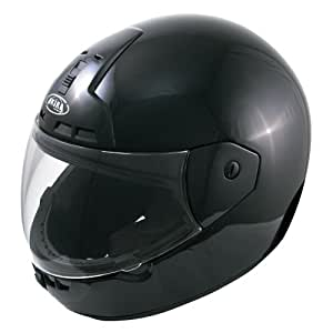 Akira Nagoya Motorradhelm Integral, Schwarz, Größe M