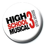 High School Musical - Badges Logo 3D (in 2,5 cm)