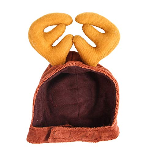 (SDGDFXCHN Haustier-Katze-Hundehut-Kopfschmuck-Schal-Mantel kleiden Oben Jahr-Mantel-Weihnachtswarme Kleidung an)