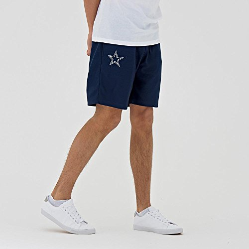 New Era dryera Short Kurze Hose DALCOW Linie Dallas Cowboys, Unisex Erwachsene, Blau (OSB) (Flag Football Hose)