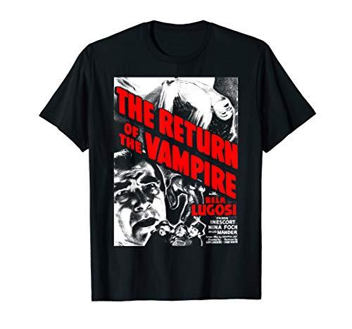 Dracula Lugosi Horrorfilm Retro Poster T-Shirt ()