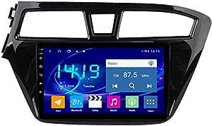 Lingjie Für Hyundai I20 2015 2018 Android Autoradio Radio Doppel Din Navi Gps Navigation 9 Zoll Touchscreen Multimedia Player Video Receiver Mit 4g Dsp Carplay Sport Freizeit