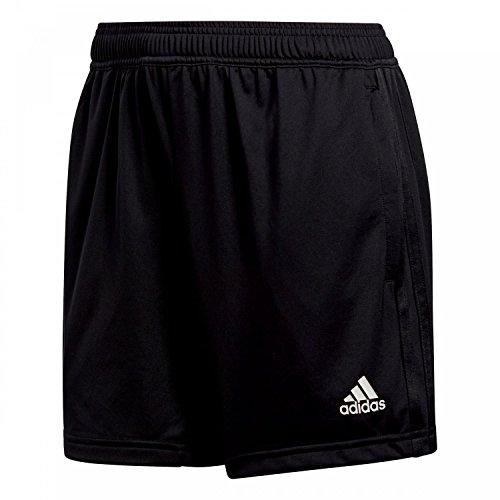 adidas Damen Condivo 18 Kurze Traningshose, Black/White, XL