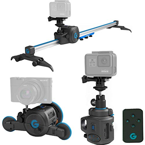 The Directors Set -All in one, Electronic Slider & 360° Panoramic Mount & Micro Dolly -