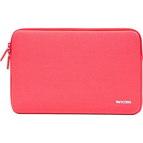 """Incase Classic Sleeve Schutzhülle für Apple MacBook Pro (Retina)/Air 13,3"""" - red plum [Ariaprene Nylon,3mm dickes Kunstfell-Interieur,Hochwertiger Reißverschluss] - CL60530"""