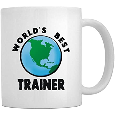 Teeburon WORLD'S BEST Trainer globe Tazza