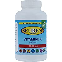 Vitamin C 1000 mg Buffered (Ester C) 100 Tabletten Glutenfrei, Laktosefrei und Zuckerfrei (100% natürlich) preisvergleich bei billige-tabletten.eu
