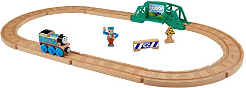 Thomas und seine Freunde Thomas & Friends fhm64Playstation Holz Baumeister Spielset