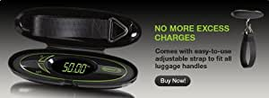 MULTI USE DIGITAL LUGGAGE WEIGHING SCALE BY WEIGHIT INCLUDING FREE PROTECTIVE TRAVEL CASE
