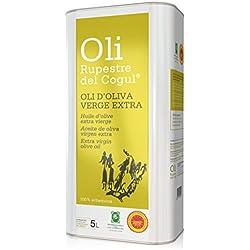 Aceite de Oliva virgen extra - Denominación de origen protegida Les Garrigues - Lata 5 L