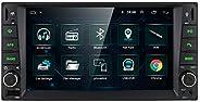 Ossuret Double Din Universal Car GPS Navi Android 9.0 Car Stereo Radio Fit for Toyota RAV4/Prado/Vios/Hilux Su