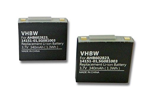 vhbw-lot-de-2-batteries-polymer-340mah-37v-pour-casque-audio-gn-netcom-jabra-9120-9125-gn9120-gn9120