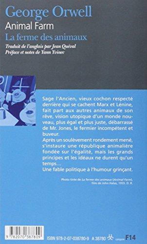 La Ferme des Animaux - Animal Farm (édition bilingue)