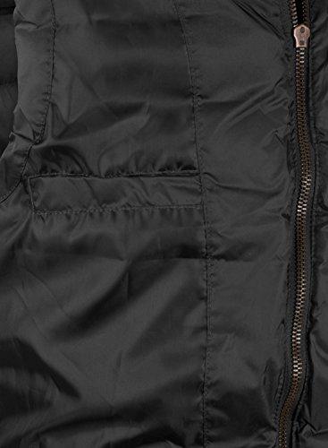 BLEND Cam Herren Weste Steppweste mit Stehkragen aus hochwertigem Material Phantom Grey (70010)