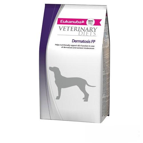 EUKANUBA Veterinary Diet Dog Dry Dermatosis Adult All Breeds Chicken Bag, 1er...
