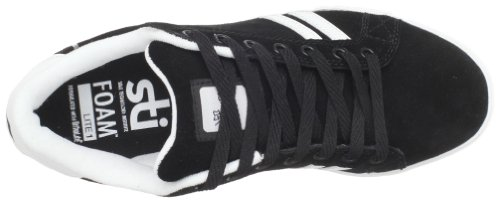 Emerica THE LEO 6102000065, Scarpe da skateboard unisex adulto Nero (Schwarz/black/white/gum)