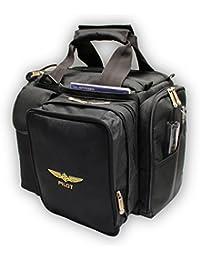 Design4Pilots - cross country Pilot bolsa de vuelo con funda de pilotos de la aviación