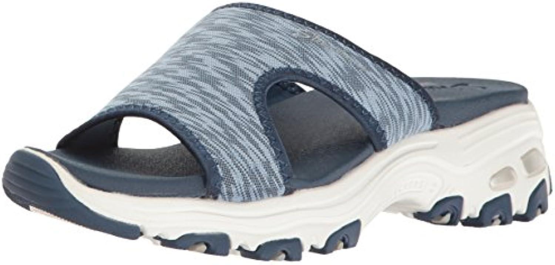Sandali con zeppa Cali Dali Lule-Cool da donna, blu, 10 10 10 M US | Meraviglioso  474c28