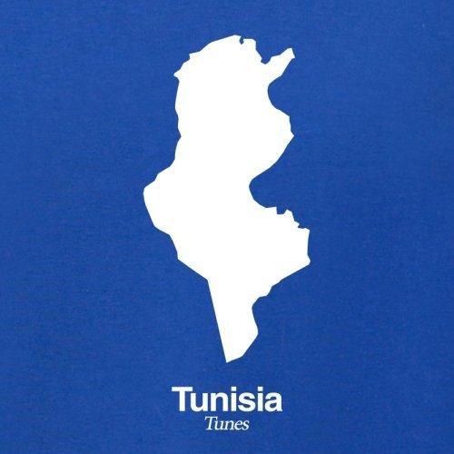 Tunisia / Tunesien Silhouette - Damen T-Shirt - 14 Farben Royalblau