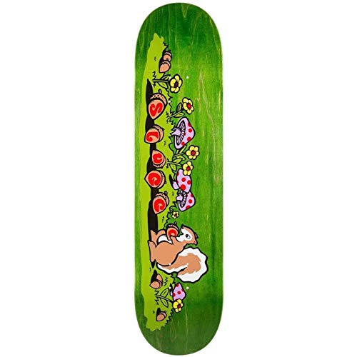 3e4212c827aa7 Real Skateboards Sluggo OG Skateboard Deck Yellow 8.25