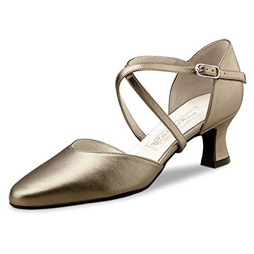 Werner Kern–donna danza scarpe Patty 5,5 Antico