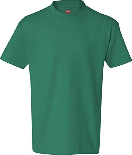 Zirkus Serie - BŠrtige Dame auf American Apparel Fine Jersey Shirt kelly green