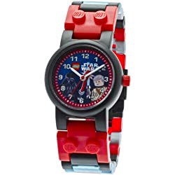 LEGO Star Wars Darth Vader and Obi Wan watch children's quartz Watch with multicolour Dial analogue Display and multicolour plastic Strap 8020387