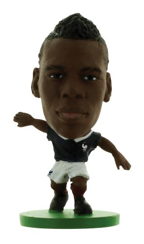 SoccerStarz International Pupazzetto Paul Pogba Francia in Casa Kit
