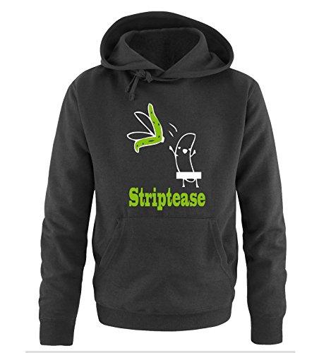 Comedy Shirts -  Felpa con cappuccio  - Maniche lunghe  - Uomo black / white-green