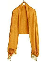 Royal Speyside Super Lux Pure 100% Cashmere Stole in Camel