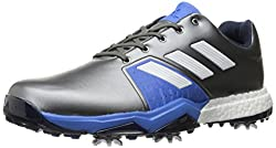 adidas Mens Adipower Boost 3 Dksimt/F Golf Shoe, Grey, 9.5 M US