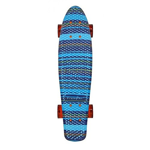 Banzai Sk8Vintage Skateboard Blau 22,5'.