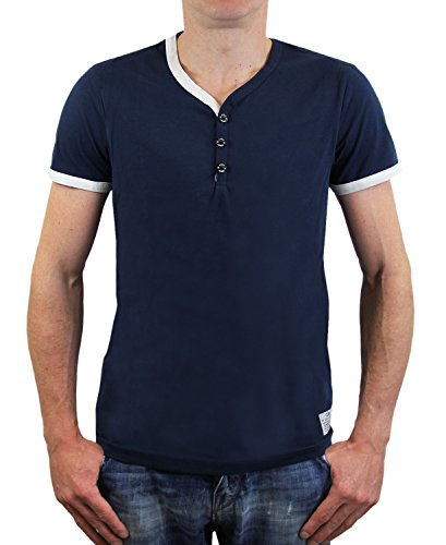 JACK & JONES -  T-shirt - Maniche corte  - Uomo blu Large