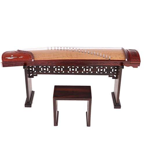 DJ-MJJ Schön gestaltete handgefertigtes kann klassisches Musikinstrument Guzheng Modell, Holz-Handwerk, Geschenke for Mädchen, for zu Hause verwendet Werden, Bürodekoration